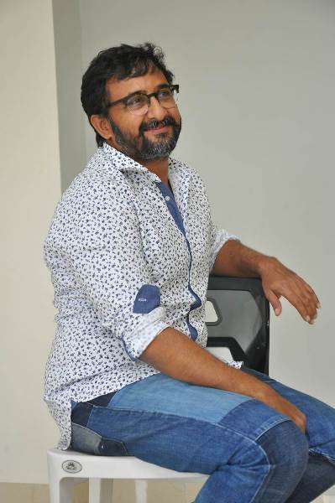 Nene Raju Nene Mantri Movie Director Teja Interview Stills  4