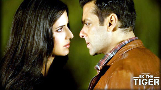 Katrina Kaif Salman KhanEk Tha Tiger Film Photo