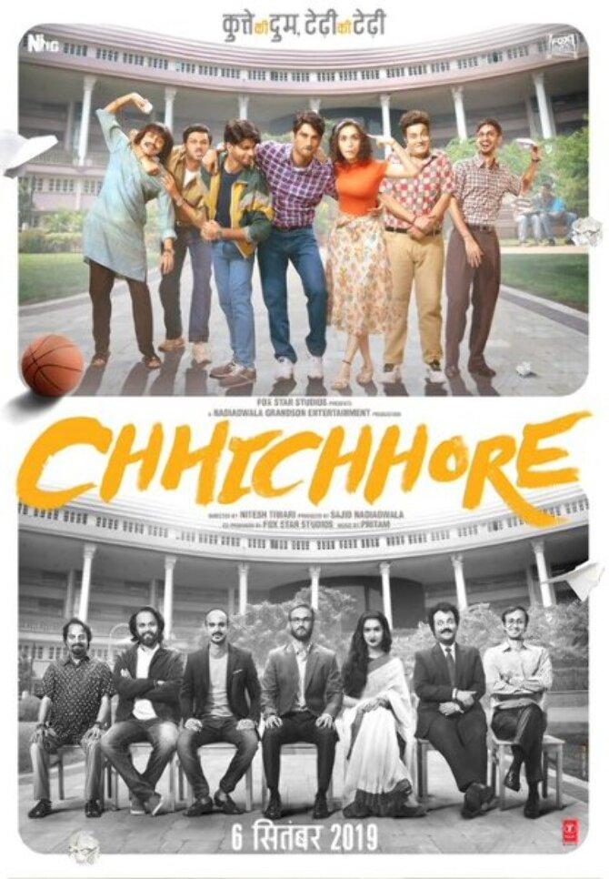 Sushant Singh Rajput and Shraddha Kapoor New poster of movie Chhichhore