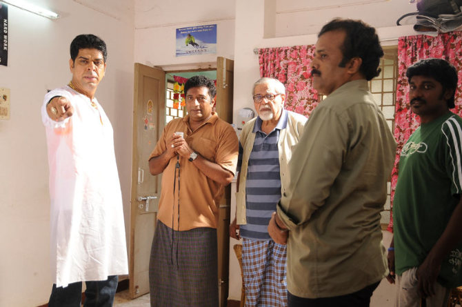 Prakash Raj in Dhoni Telugu Film Photo