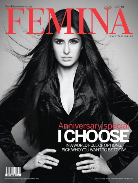 Katrina Kaif Femina October Cover Page