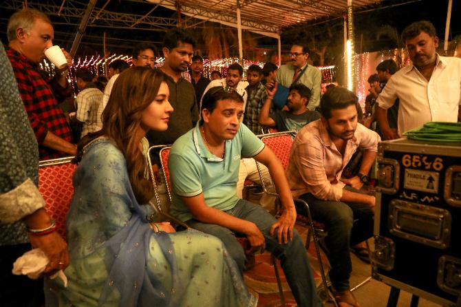 Srinivasa Kalyanam Telugu Movie Working Stills  11