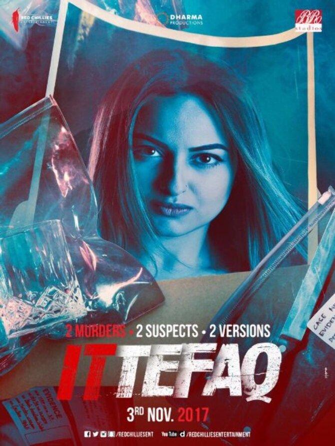 Sonakshi Sinha Ittefaq Movie Poster
