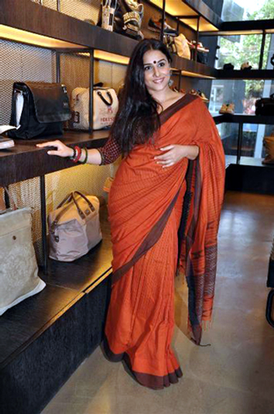 Vidya Balan at the DVD launch of her film KAHANI at Diesel Store in Mumbai Pic