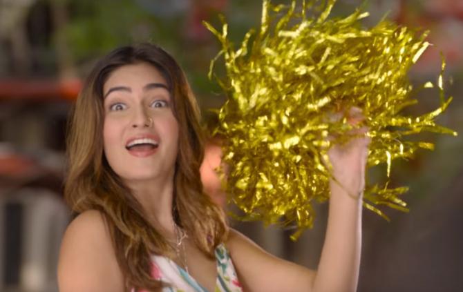 Karishma Sharma   Sunny Singh starrer Ujda Chaman Hindi Movie Photos  21