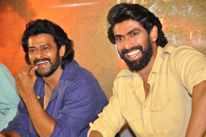 Prabhas  Rana Daggubati Bahubali   The Conclusion Movie Pressmeet