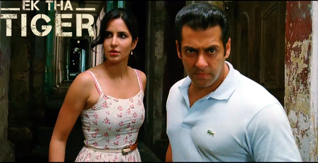 Salman Khan And Katrina Kaif In Ek Tha Tiger: Katrina Kaif Salman Khan Ek Tha Tiger Photo : Ek Tha Tiger