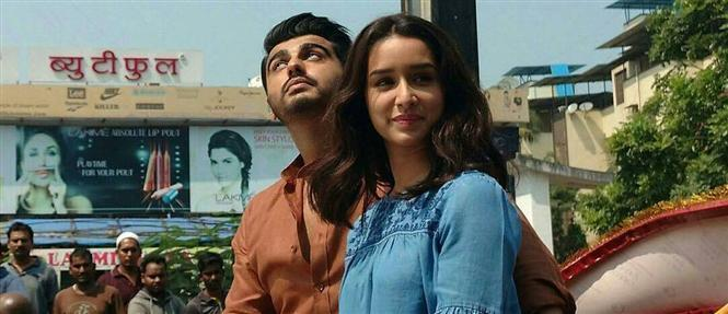 Shraddha Kapoor and Arjun Kapoor Half Girlfriend Movie Stills
