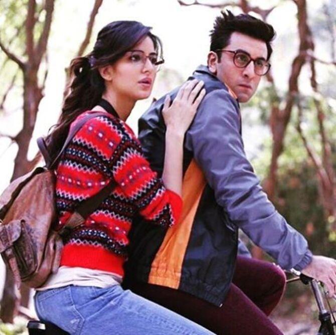 Katrina Kaif  Ranbir Kapoor Jagga Jasoos Movie Stills