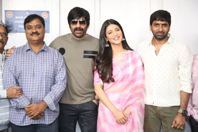 Krack Movie Launched   1