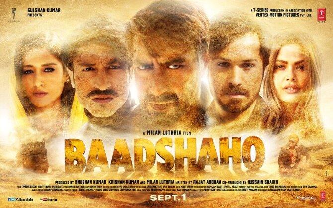 Baadshaho Movie Latest Poster