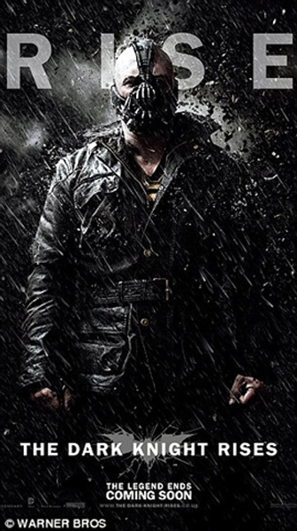 Tom Hardy in The Dark Knight Rises Movie Pic