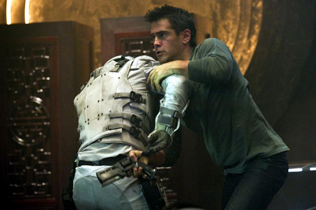 Colin Farrell in Total Recall Pic
