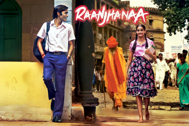 Sonam Kapoor And Dhanush Raanjhanaa Movie  Image