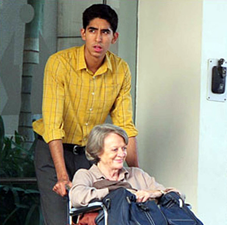 Dev Patel And Judi Dench The Best Exotic Marigold Hotel Movie Pic