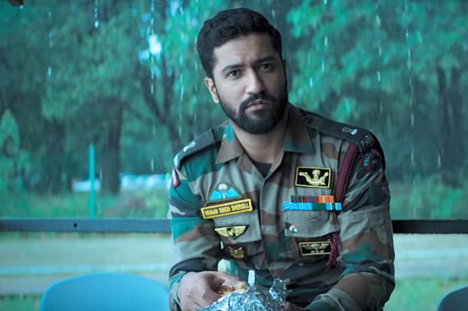 Vicky Kaushal starrer URI Hindi Movie Photos  40