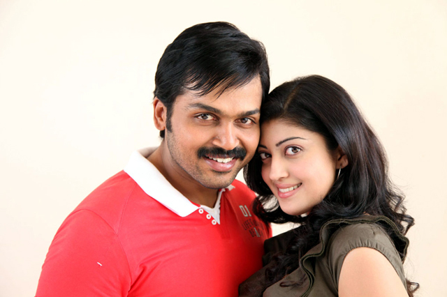 Karthik Sivakumar   Pranitha Saguni Movie Photo