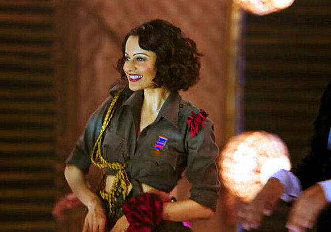 Kangana Ranaut Rangoon Movie Song Stills  6