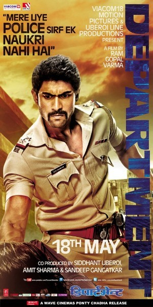 Rana Daggubati Department Movie New Poster