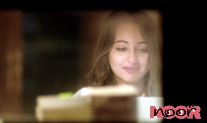 Sonakshi Sinha Movie NOOR Stills  26