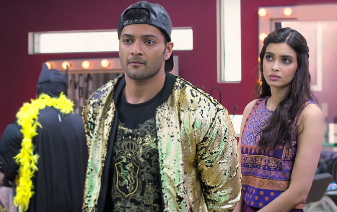 Diana Penty    Ali Fazal Happy Phirr Bhag Jayegi Movie Stills  2