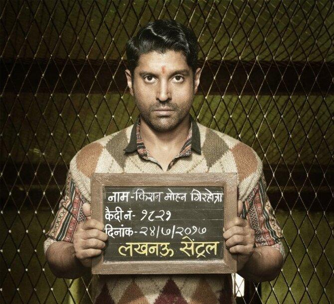 Farhan Aktar Movie Lucknow Central First Look