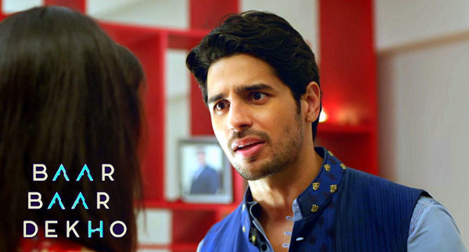 Sidharth Malhotra Movie Baar Baar Dekho Stills  3