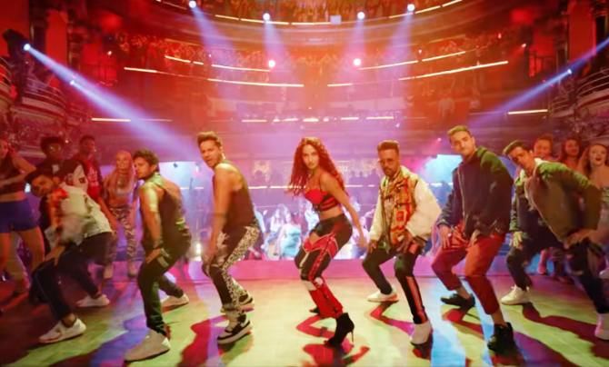 Nora Fatehi   Varun Dhawan starrer Street Dancer 3D Movie Song Garmi Pic  7