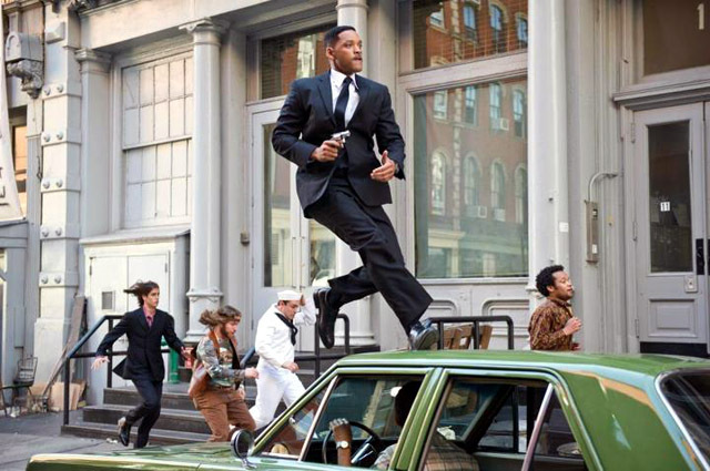 Will Smith in Men in Black 3 Stills