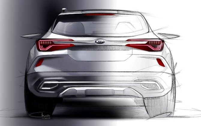 Kia new small SUV