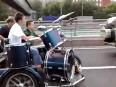 amazing rock band on wheels video