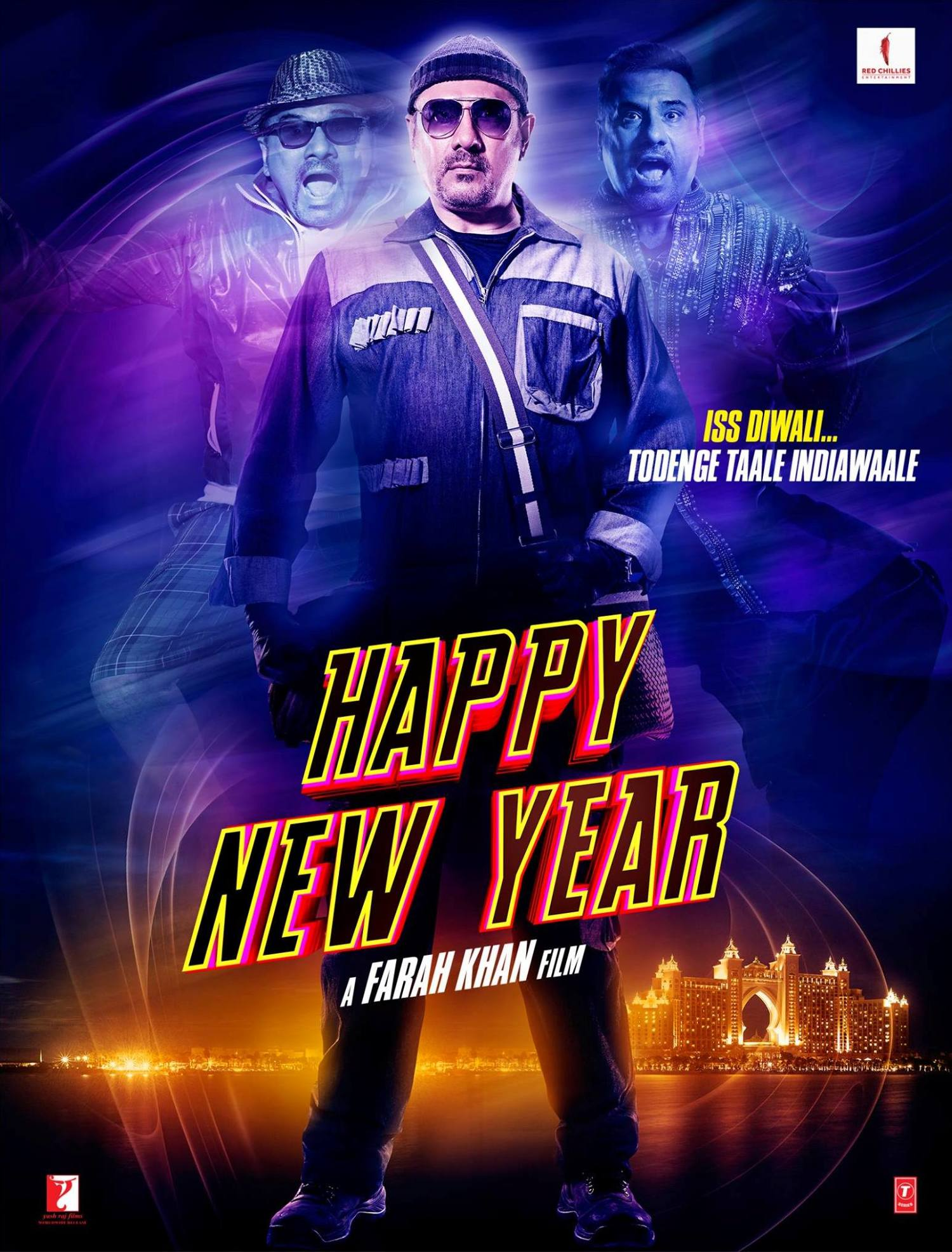 Happy New Year Movie Poster 25