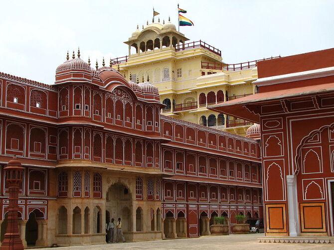 Chandra Mahal Jaipur Rajasthan India